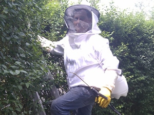 tenue d' apiculteur